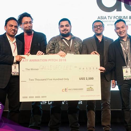 Galli  Leo Lei Tampil Sebagai Pemenang ATF Animation Pitch 2018