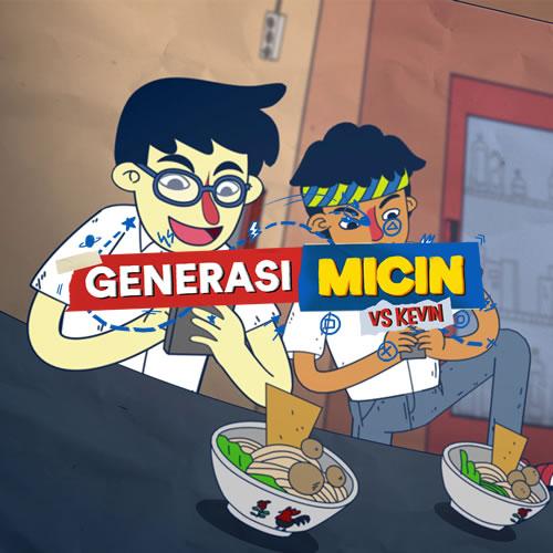 Generasi Micin Vs Kevin Kumata Studio